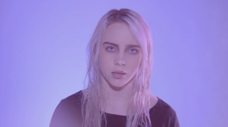 debut lagu viral ocean eyes